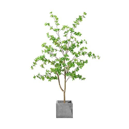LMJ Simulación Plantas Verdes Artificial árbol Campana Falsa Plantas Verdes en Maceta Interior Sala de Estar bonsái Adornos decoración 150 cm (Color : Single Tree Trunk 1)