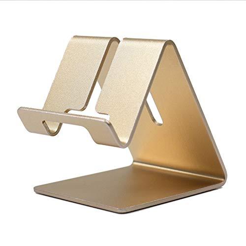 ZADAI Soporte de Aluminio para Teléfono Móvil Base para Teléfono: Cuna Soporte Soporte
