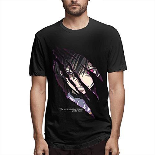 Code Geass Men's T-Shirt Adult Short Sleeve T-Shirt for Men,XX-Large