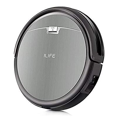 ILIFE A4s Pro Robot Vacuum, 1500Pa Max Suction, ElectroWall, Remote Control, Slim, Thin, Quiet, Self-Charging, Smart, Ideal for Hard Floor to Medium-Pile Carpets