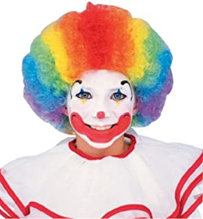 Rubies Multicolor Clown Wig