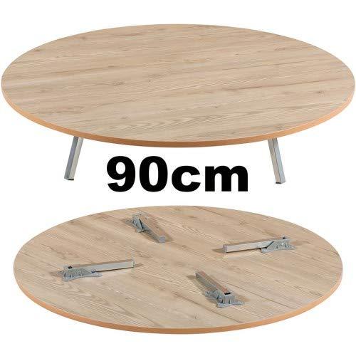 Bodentisch Teigtisch Klapptisch Rund Mit klappbaren Füßen Yer Sofra Esstisch Ideal für Backwaren Zubereitung und Gerichte NEU Größe Durchmesser 90cm