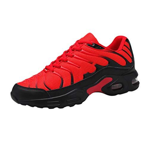 catmoew Damen Herren Sneaker Laufschuhe Air Sportschuhe Turnschuhe Running Fitness Sneaker Straßenlaufschuhe Outdoors Sports Freizeitschuhe