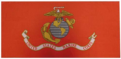 Trade Winds US USMC United States Marine Corps EGA Red 30'x60' 100% Polyester Beach Towel