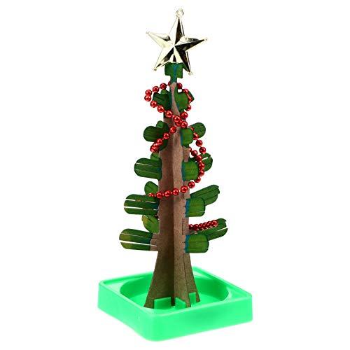 KESYOO Magia Crescendo Cristal Ãrvore de Natal Crianças Papel Ãrvore Diy Férias Decorações Ãrvore Engraçado Educativo Festa Brinquedos Natal Saco Enchimentos Enfeites Festivo Brinquedo
