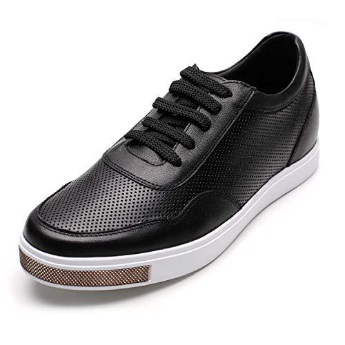 CHAMARIPA Zapatos con Alzas Hombre de Cuero - 6CM Aumentar la Altura...