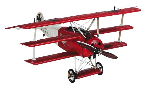 Authentic Models - Flugzeugmodell - Desktop Fokker Triplane (Red Baron) - AP203 - Roter Baron