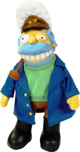 Peluche Cartoon Simpson United-Captain Mcallister 30cm.1000359