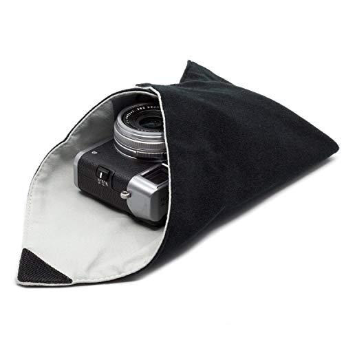 Amolith™ Einschlagtuch für Kamera als Schutzhülle für Fotoausrüstung im Rucksack, Tasche, Beutel etc. | Geeignet für kleine DSLM/DSLR (Body) Kompaktkamera, Objektiv etc. | S (30 x 30 cm) | AML-8773
