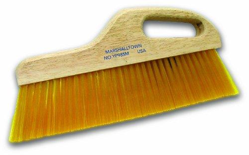 MARSHALLTOWN The Premier Line YP985M 12-Inch Yellow Poly Finishing Brush-Medium