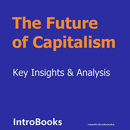 The Future of Capitalism  By  cover art