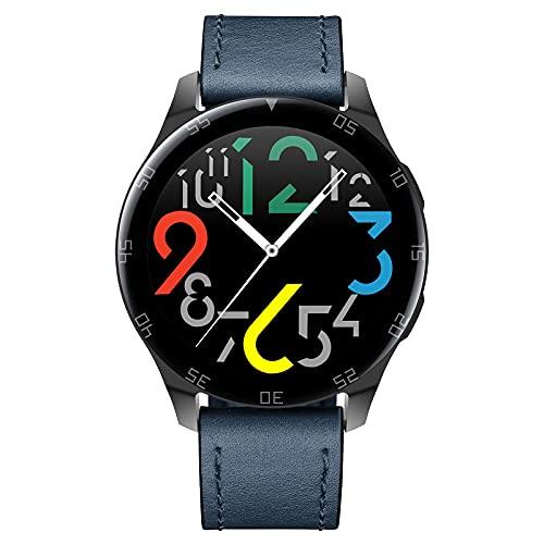 KaiLangDe Smartwatch Reloj Inteligente con Pulsómetro Cronómetros Calorías Monitor de Sueño Podómetro Monitores de Actividad Impermeable Reloj Deportivo para Android iOS Pulsera (Color : Blue)