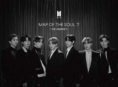 Big Hit BTS Bangtan Boys - MAP of The Soul : 7 [The Journey] Japan Limited ver-C +56p Photobook+ Extra Photocards Set