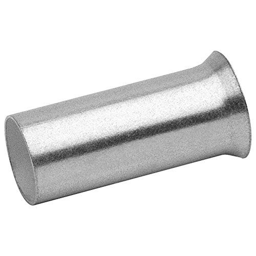 Klauke 7718V Aderendhülse 16 mm² x 18 mm Silber 100 St.