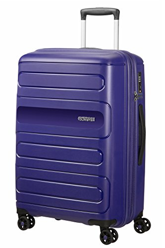 American Tourister Sunside Spinner 68 Expandible, 3.7 kg, 72.5/83.5 l, Navy Azul