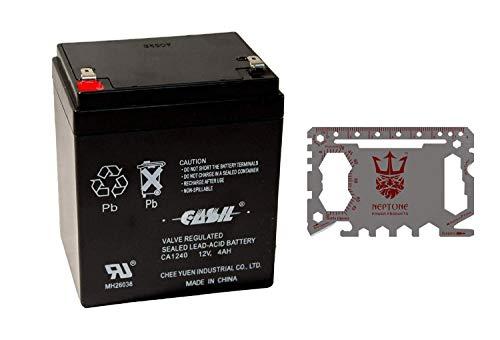 Neptune 46-in-1 Card Multi Tool - Plus CASIL CA-1240 12V 4AH SLA...