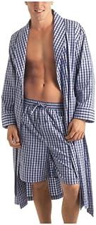ملابس نوم رجالي من نوتيكا منسوجة بياقة شال شال