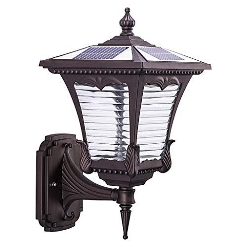 Verlichting wandlamp Solar Villa tuin licht deur lamp gang waterdicht terras LED lampen licht in binnenplaats