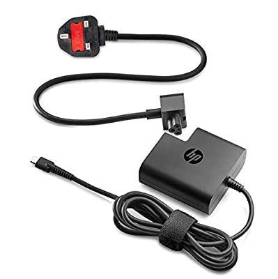 HP 1HE08AA#ABU USB-C - Power adapter - AC - 65 Watt - United Kingdom - for Pro x2 612 G2 - (Components > Power Supplies PSU)