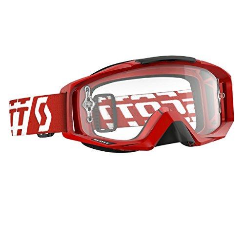 Scott Tyrant Maske, Unisex Erwachsene Einheitsgröße rot