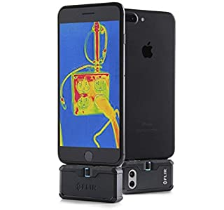 Flir ONE PRO iOS | Thermal Imaging Camera for iOS, 160 x 120 Thermal Resolution, VividIR (Lightning Connector) (B072J49BX7) | Amazon price tracker / tracking, Amazon price history charts, Amazon price watches, Amazon price drop alerts