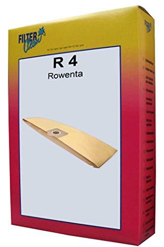 FilterClean R 4 Staubsaugerbeutel, Braun