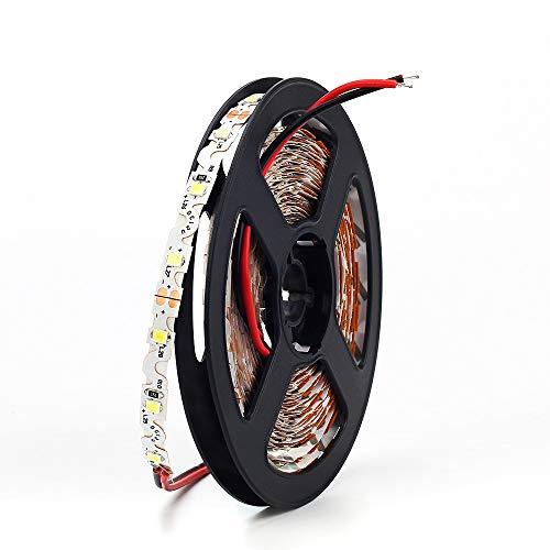 KIODS vorm Dc12V S geleide strip 2835 SMD 60 Led/M 5 M/Lot 5 mm smalle breedte-vrije hoek-buigend flexibel strip-licht