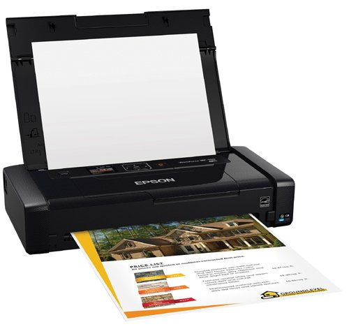 Epson Workforce WF-100 Wireless Color Mobile Printer, Compatible with Alexa (Renewed) Photo #2