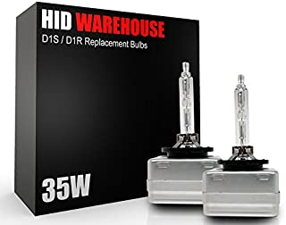 HID-Warehouse HID Xenon Replacement Bulbs - D1S / D1R / D1C - 10000K Dark Blue (1 Pair) - 2 Year Warranty