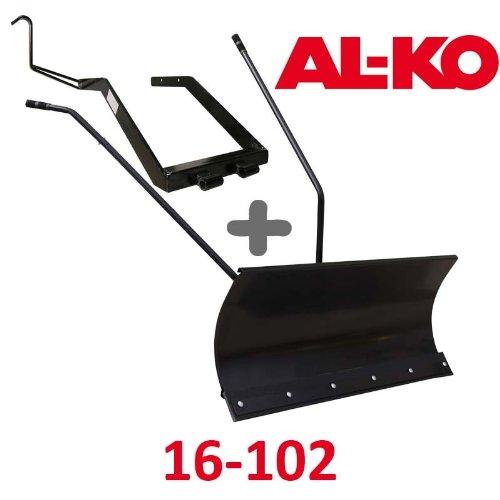 Lame à Neige 118 cm Noire + adaptateur pour AL-KO 16-102