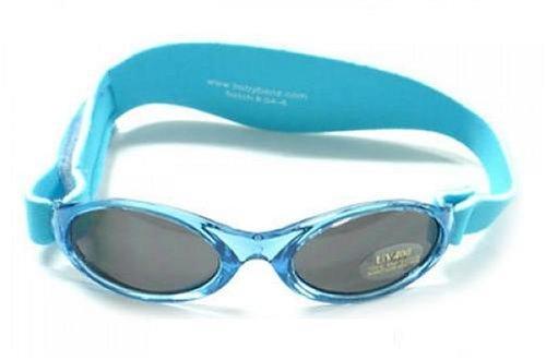 Kidz Banz KB008 Bébé Garçon Vêtement de Bébé Accessoires Lunettes de Soleil - Bleu - Taille unique