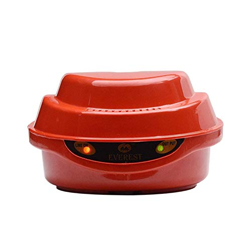 Everest ABS Body EPS 50 Voltage Stabilizer Used for Single Door Refrigerator (Red Colour) (Working Range : 130 V - 290 V)