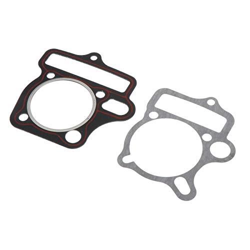 IPOTCH 2 Teile/Satz motorkopf Zylinder top & Basis Dichtung Set für 125cc ATV go-Kart Dirt Bikes