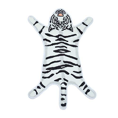 Vosarea Tiger Badematte Badezimmer Teppich Cartoon rutschfeste Badematte Bodenmatte Boden Teppich...