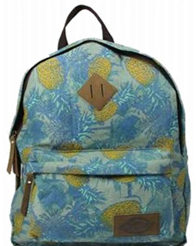 Dickies Cotton Canvas Classic Backpack, Blue Pineapple Travel School Pack