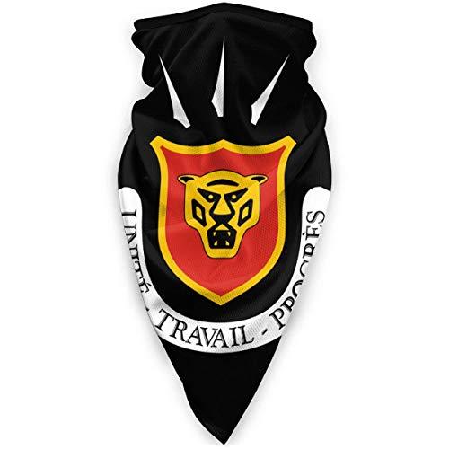 WlQshop emblème National du Burundi Cache-Cou Plus Chaud Coupe-Vent Couverture du Visage écharpe Couverture de Sports de Plein air