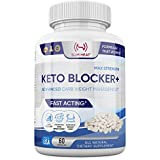White Kidney Bean Extract - 100% Pure Keto Carb Blocker & Fat Absorber for Weight Loss - Advanced Carb Management, Promotes Carb Break Down - Intercept Carbs for Men & Women - 60 Capsules