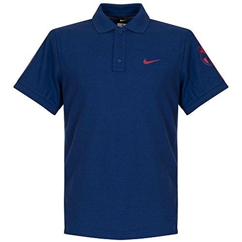 Nike - Polo à Manches Courtes pour Homme Matchup FC Barcelona Core Taille L