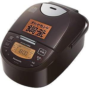 パナソニック 炊飯器 5.5合 IH式 ブラウン SR-FD100-T