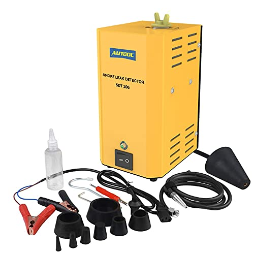 ourantools AUTOOL SDT-106 Automotive EVAP Machine Leak Detector, DC12V Auto Fuel Pipe Leak Tester for Car/Motorcycle/Truck