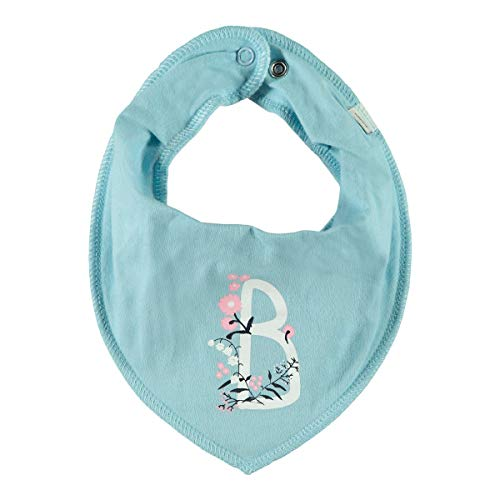 Name It Foulard fleurs foulard bébé, bleu ciel
