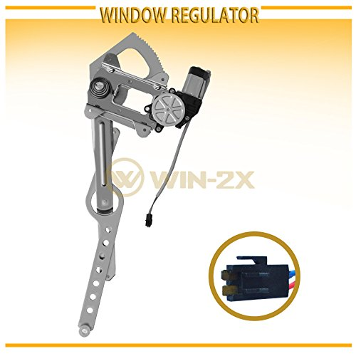 Replacement Driver Front Power Window Regulator and Lift Motor Assembly Compatible with 88-02 C//K Pickup Truck 22071949