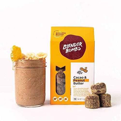 Blender Bombs: Cacao & Peanut Butter