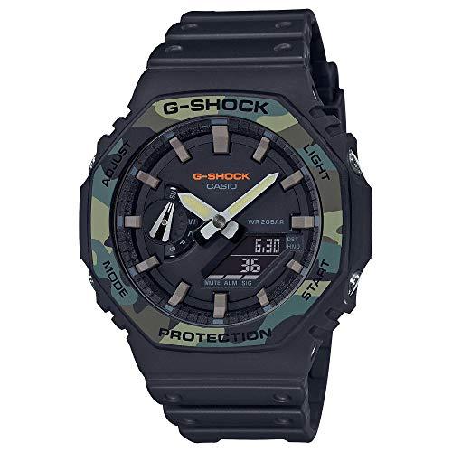 Casio G-Shock GA2100SU-1A - Reloj analógico y Digital octágono con Bisel para Hombre