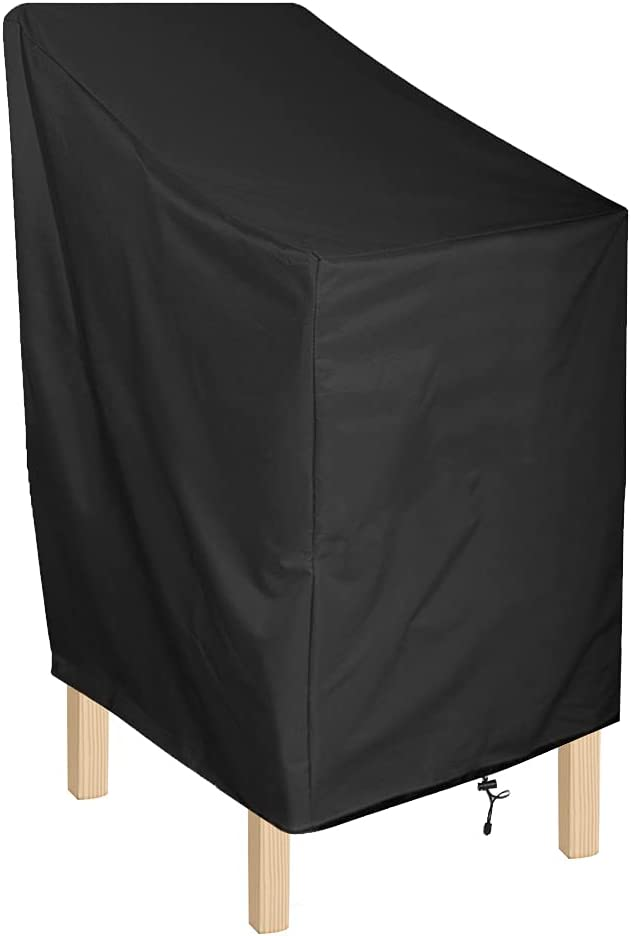 ANMINY Waterproof Patio Chair Covers Outdoor High Stackable Back Financial sales sale Ranking TOP19