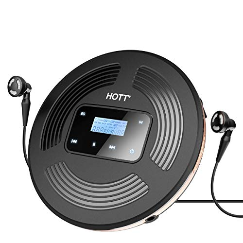 Touchscreen Portable CD Player, HOTT Personal Compact Disc Player with...