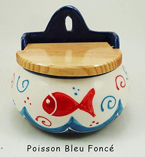Générique Boite à sel - Poisson Bleu foncé