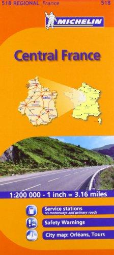 Mapa Regional Central France (Carte regionali)