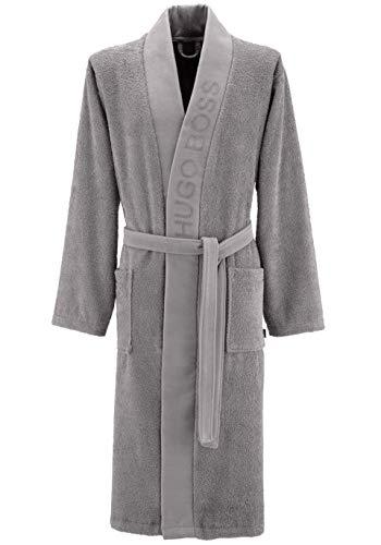 Luxe Egyptisch Katoen Kimono Badgewaden, Navy