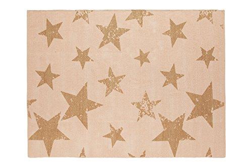 Lorena Canals Vintage Star alfombra y cojín (salmón)